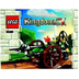 lego knights kingdom siege cart bagged