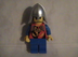 lego kingdoms dragon knight custom minifigure