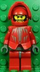 lego knight's kingdom santis minifigure sword