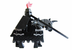 lego kingdom dark knight minifigure armored