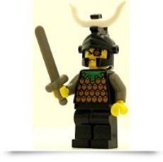 Castle Minifig Knights Kingdom I Gilbert