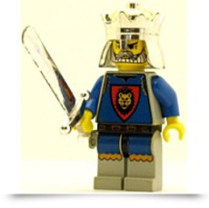 Buy Castle Minifig Knights Kingdom I King