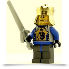 Buy Castle Minifig Knights Kingdom Ii King