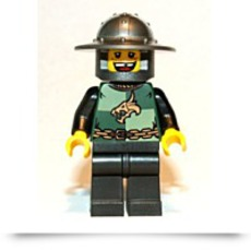 Kingdoms Dragon Knight Quarters Minifigure