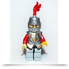 Buy Kingdoms Lion Knight Minifigure