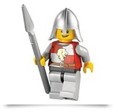 Kingdoms Lion Knight Quarters Minifigure
