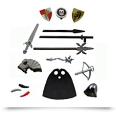 Knight Weapon And Armor Accessory Kit