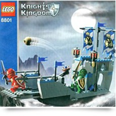 Knights Kingdom Knights Attack Barge