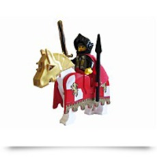 Princess Storm And Horse Minifigures