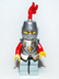 lego kingdoms lion knight minifigure