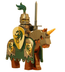 lego dragon knight armored horse medieval