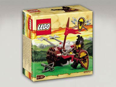 Knights Kingdom Set 4806 Axe Cart