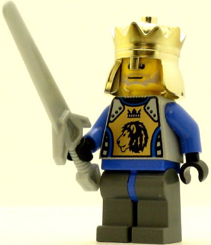 Lego Castle Minifig Knights Kingdom Ii King Mathias