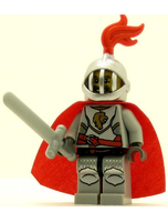 Castle Minifig Kingdoms Lion Knight Breastplate